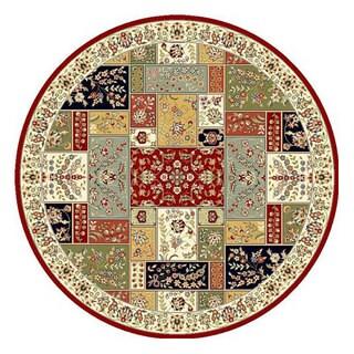 Safavieh Lyndhurst Traditional Oriental Multicolor/ Ivory Rug (8' Round)