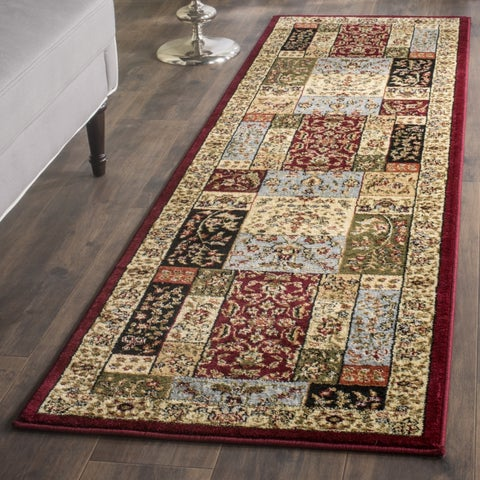 "Safavieh Lyndhurst Traditional Oriental Multicolor/ Ivory Runner (2'3 x 12') - 2'3"" x 12'"