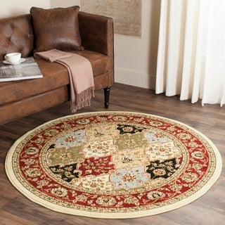Safavieh Lyndhurst Traditional Oriental Multicolor/ Red Rug (5' 3 Round)