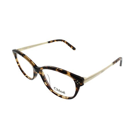 Chloe Cat-Eye CE 2631 218 Women Havana Frame Eyeglasses