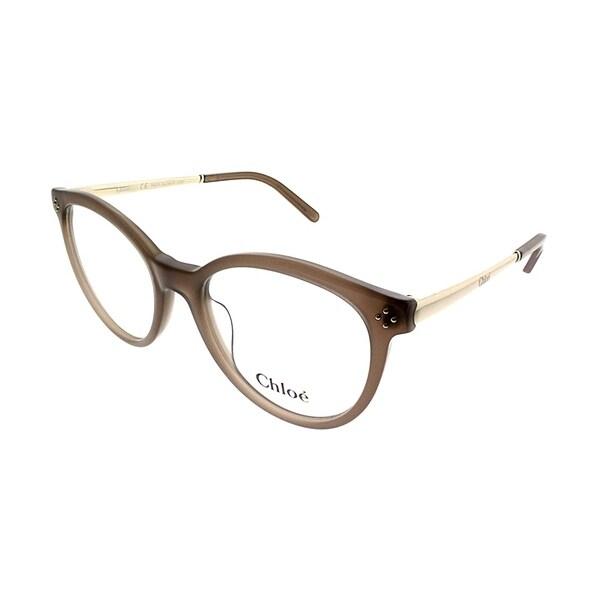 45a875e012 Shop Chloe Round CE 2676 272 Women Turtledove Frame Eyeglasses - On ...