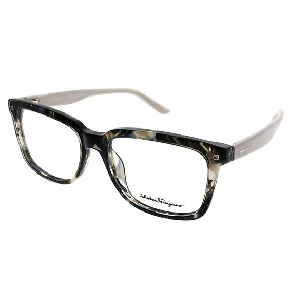 0db0a523e3 Salvatore Ferragamo Rectangle SF 2685 040 Unisex Maculate Grey Frame  Eyeglasses