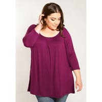 Sealed with a Kiss Women's Plus Size Essential Top