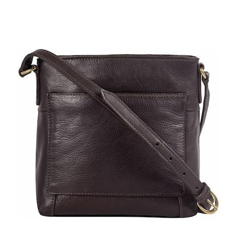 Hidesign Sierra Small Leather Crossbody Bag