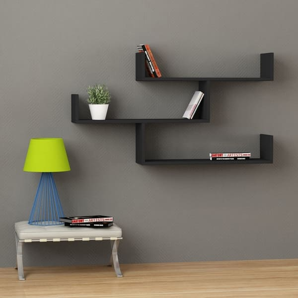 Wilton Modern Wall Shelf 47 X 26 9