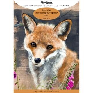 Pollyanna Pickering Sketchbook A4 Die-Cut Decoupage Card Kit