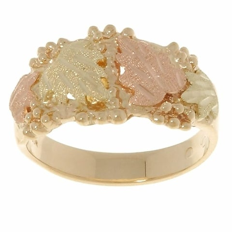 Black Hills Gold Traditional Ring