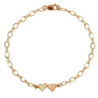 Black Hills Gold Heart Bracelet|https://ak1.ostkcdn.com/images/products/2094183/P10380362.jpg?impolicy=medium