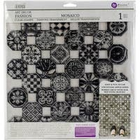 "Iron Orchid Designs Decor Clear Stamps 12""X12"""
