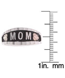Black Hills Gold and Silver MOM Ring - Thumbnail 2