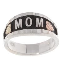 Black Hills Gold and Silver MOM Ring
