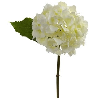 """Link to 12"""" Hydrangea Artificial Flower (Set of 12) - h: 12 in. w: 8 in. d: 6.5 in Similar Items in Living Room Furniture"""
