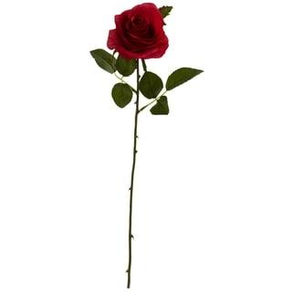 "18"" Rose Artificial Flower (Set of 24) - h: 18 in. w: 3.25 in. d: 3.25 in"