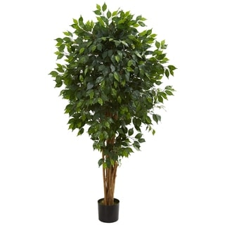 5.5' Ficus Artificial Tree - h: 5.5 ft. w: 12 in. d: 12 in