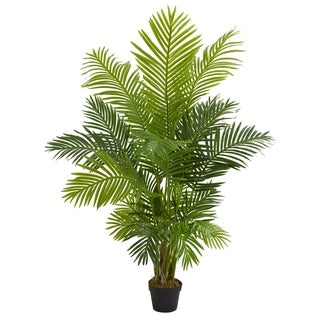 5' Hawaii Palm Artificial Tree - h: 5 ft. w: 10 in. d: 6 in