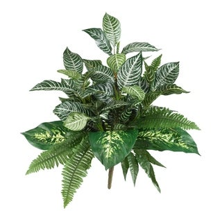 "25"" Mix Greens Artificial Plant (Set of 2) - h: 25 in. w: 25 in. d: 25 in"
