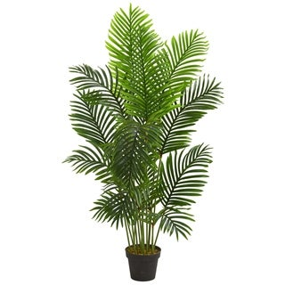 5' Paradise Palm Artificial Tree - h: 5 ft. w: 16 in. d: 16 in