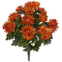 """22"""" Spider Mum Artificial Plant (Set of 2) - h: 22 in. w: 15 in. d: 13 in"""