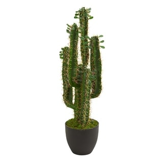 2.5' Cactus Artificial Plant - h: 2.5 ft. w: 9 in. d: 9 in