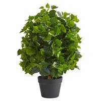 2' Ficus Artificial Tree - h: 2 ft. w: 10 in. d: 9 in