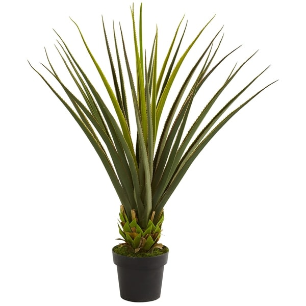 3.5' Pandanus Artificial Plant - h: 3.5 ft. w: 13 in. d: 13 in