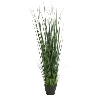 4' Grass Artificial Plant - h: 4 ft. w: 7.5 in. d: 7.5 in