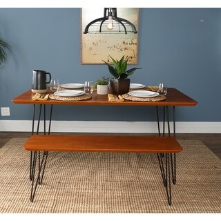Square Hairpin 2 Piece Dining Set