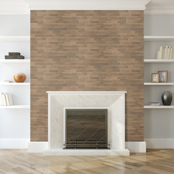 Shop Bolder Stone 6in X 24in Self Adhesive Stone Wall