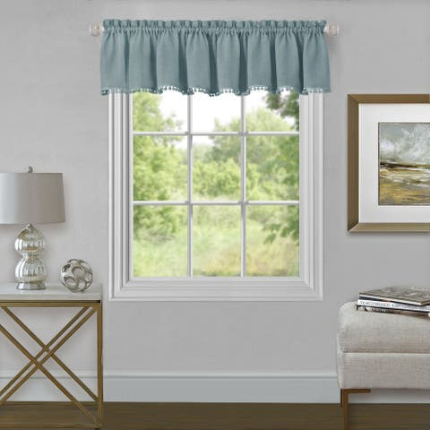 Wallace Window Curtain Valance 52x14
