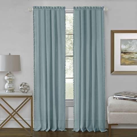 Wallace Sheer Rod Pocket Window Curtain Panel