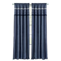 Shop Achim Ombre Window Curtain Panel Free Shipping On