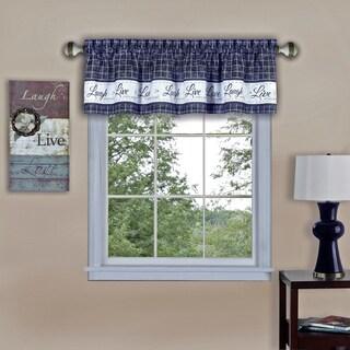 Live, Love, Laugh Window Curtain Valance - 58x14