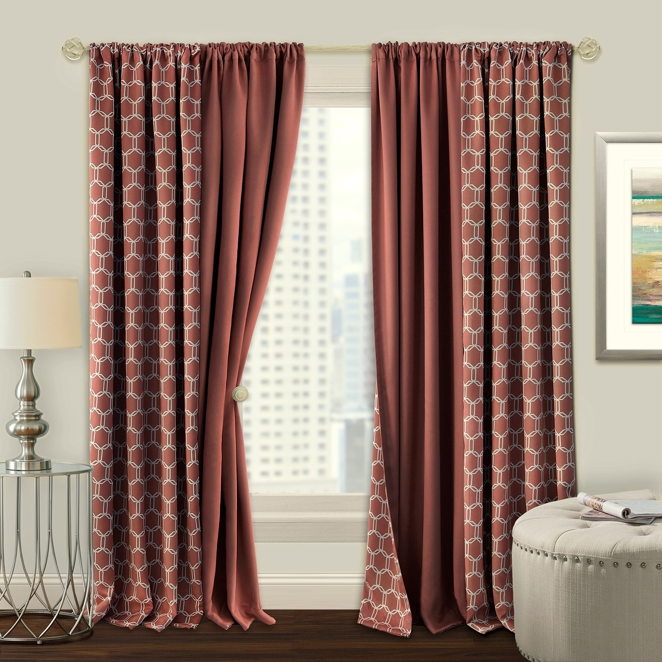 Shop For Prelude Reversible Blackout Rod Pocket Curtain Panel Get Free Delivery On Everything At Overstock Your Online Home Decor Outlet Store Get 5 In Rewards With Club O 20942645