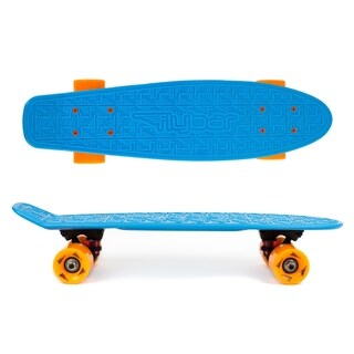 Flybar- Plastic Cruiser Board - Blue-Orange wheels