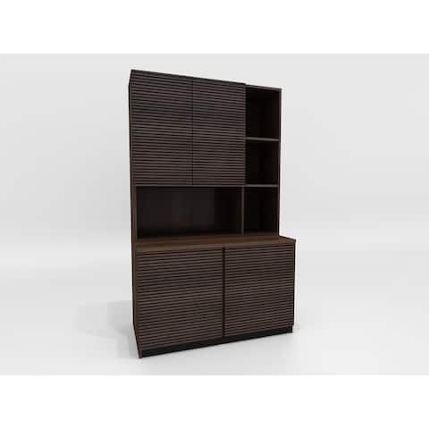 """Furnitech 47"""" Bookcase/Storage Cabinet"""