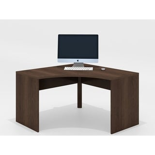"Furnitech 51"" Corner Desk in Brazilian Cherry wood"
