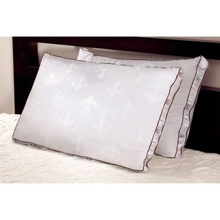 Lux Estate Memory Core Pillow featuring a Plush Down Cover