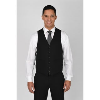 Kenneth Cole Reaction Black Suit Separate Vest (4 options available)