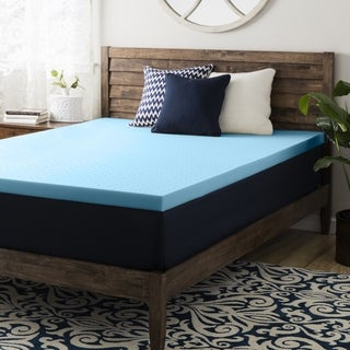 Crown Comfort 2.5-inch Gel Memory Foam Mattress Topper (4 options available)