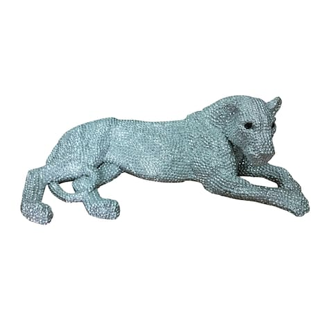 Aurelle Home Panther Small Statue