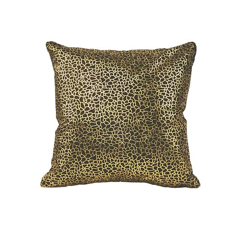 Aurelle Home Glam Gold Modern Pillow