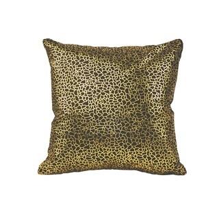 Aurelle Home Glam Gold Modern Pillow
