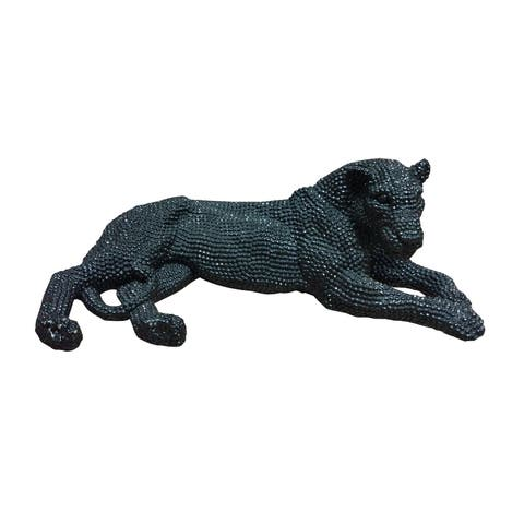Aurelle Home Black Panther Statue