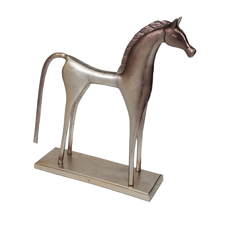 Solid Aluminum Contemporary Modern Classic Horse Statue Overstock 20943437
