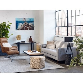 Aurelle Home Grey Modern Area Rug