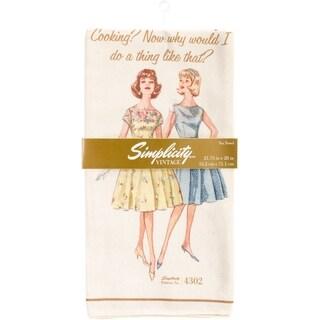 "Simplicity Vintage Tea Towels 21.75""X28"""