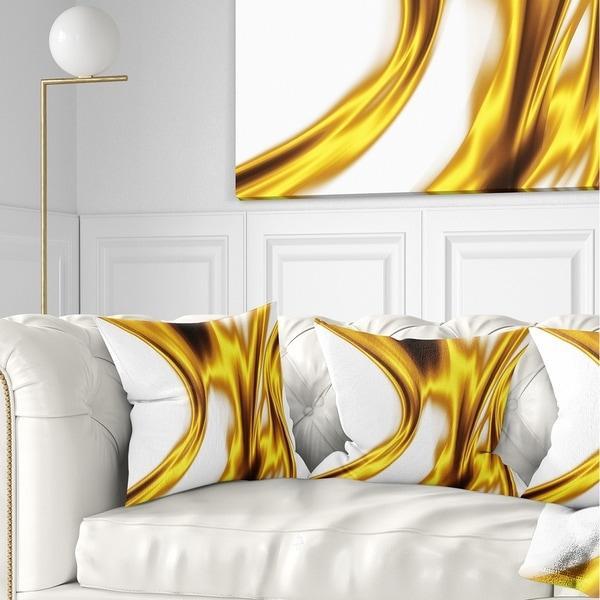 Shop Designart Bright Gold Texture Pattern Abstract