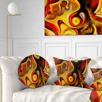 Designart 'Butterfly s Emotions' Abstract Throw Pillow