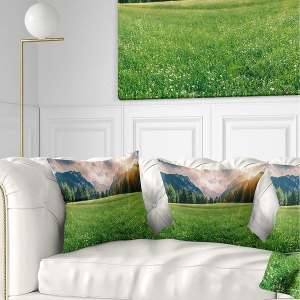 7 Top Tips For Throwing A Grand Party In A Small Home: Shop Designart 'Triglav Mountain Panorama' Landscape