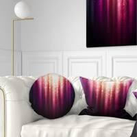 Designart 'Magic Light' Abstract Throw Pillow